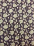 NEW! BUTTERFLY FLOWER - Fabric 100% Cotton - Price Per Metre
